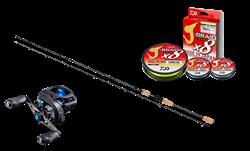 Picture of Daiwa Prorex Perch Baitcasting kit!