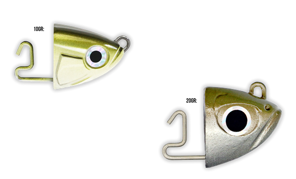 Picture of Fiiish Black Minnow Heads 2-pack 10 or 20gr