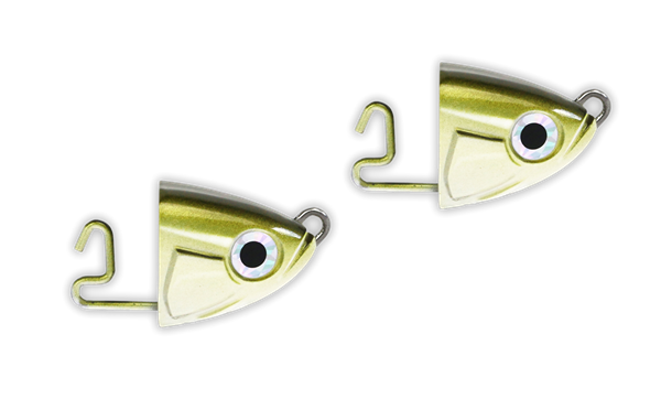 Picture of Fiiish Black Minnow Heads 2-pack, 15GR