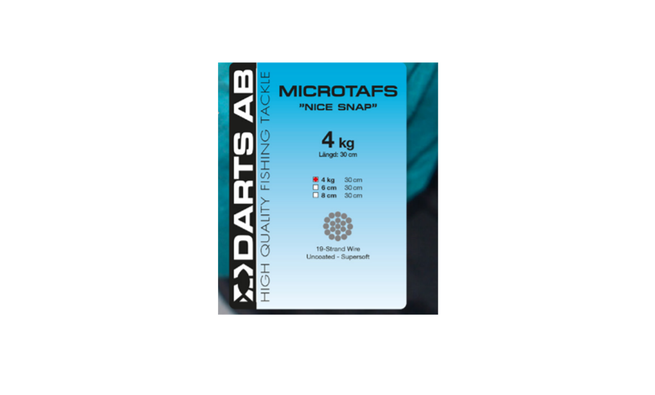 """Picture of Darts Microwire """"NICE SNAP"""" Leader, 4kg"""