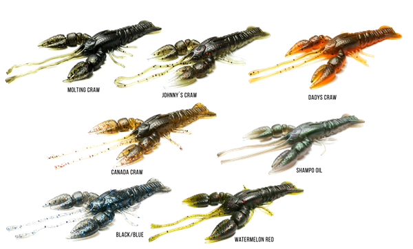 Picture of Bite of Bleak Yriel Craw 8.5cm 4-pack
