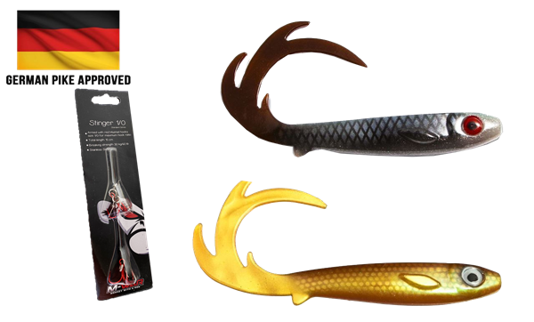 Picture of BUNDLE - 2 x Flatnose Dragon and stinger (German approved)