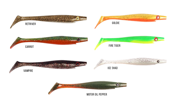 Picture of Strike Pro Pig Shad Nano, 15cm, 20gr, 4-pack