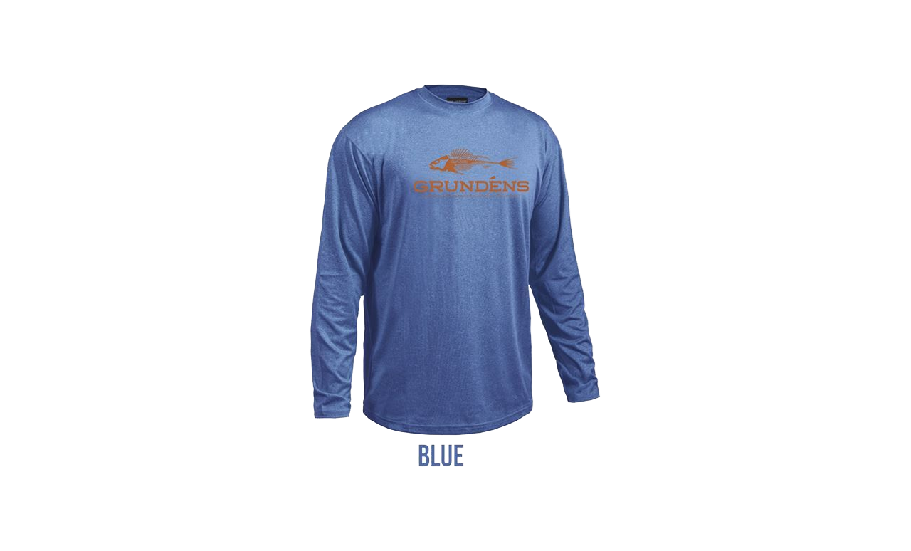 Picture of Grundéns Deck Hand Long Sleeve X-Large Blue