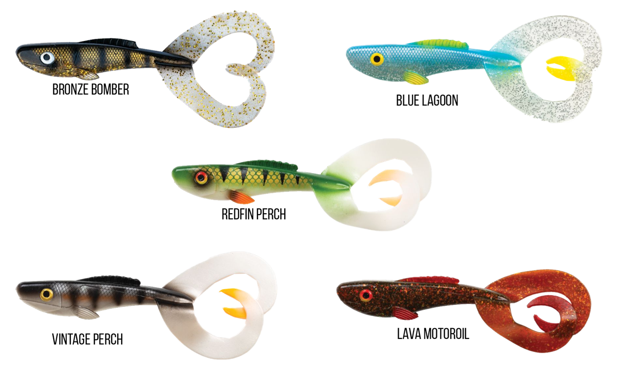 Picture of Abu Garcia Beast Twin Tail 1-pack 21cm