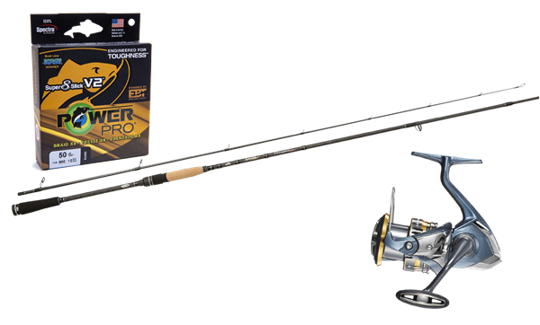 Picture of Tobias Fishing Spin Set-up