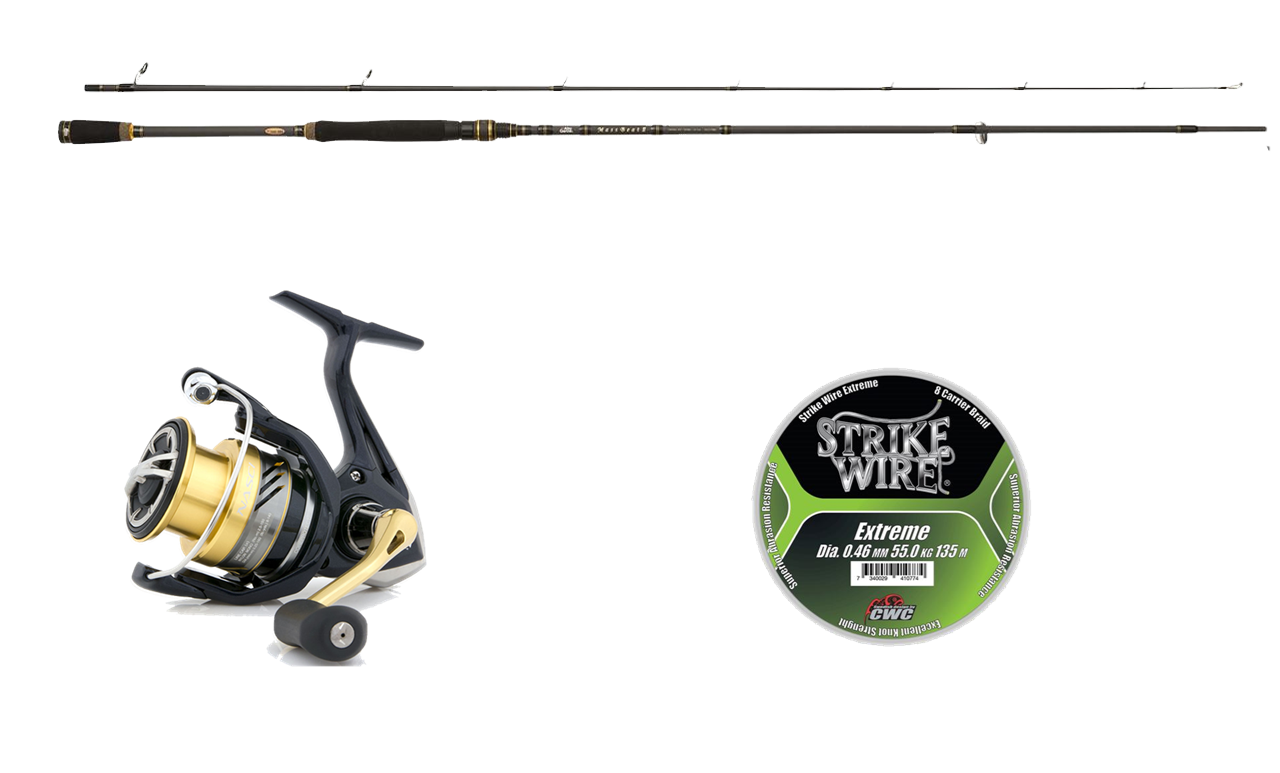 Picture of Drop Shot fishingset spinning