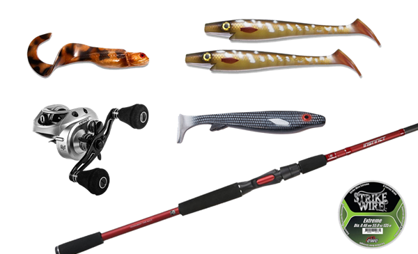 Picture of Fishingset Pike Baitcasting (BFT) -120gr