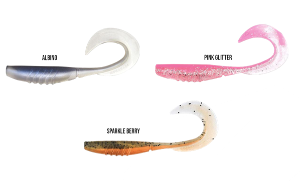 Picture of Megabass X Layer Curly 3,5'' 8cm 7-pack
