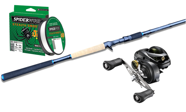 Picture of Edvins Baitcasting Fishingset Pike