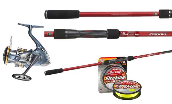 Picture of Tobias Spinning Fishingset Pike (BFT and Shimano)