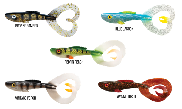 Picture of Abu Garcia Beast Twin Tail 1-pack 17cm