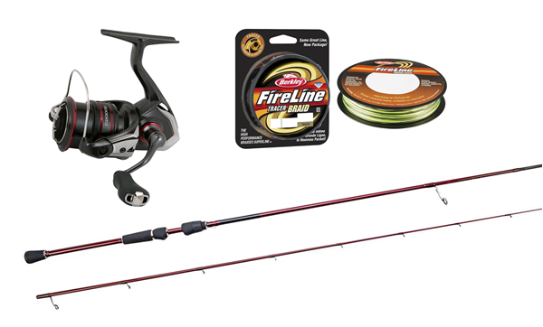 Picture of Tobias Ekvall's Perch Spinning Combo