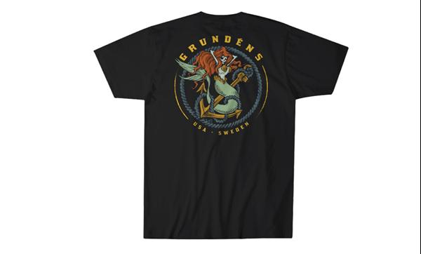 Picture of Grundéns Mermaid SS T-Shirt Black